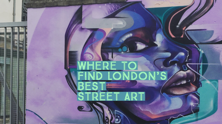 Where to find London's best StreetArt