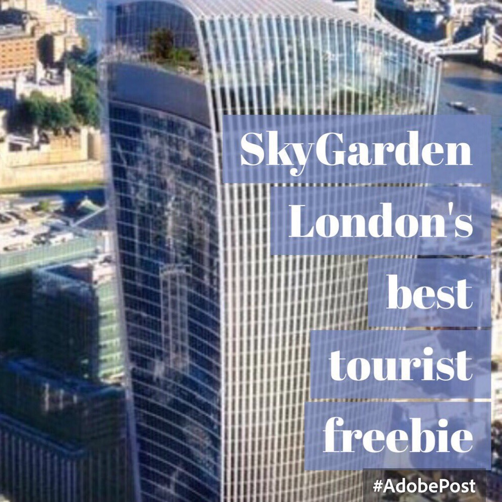 Sky Gardens London's best views for free