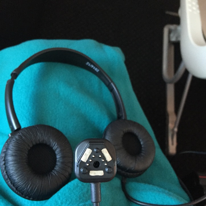 etihad airways in flight headphone