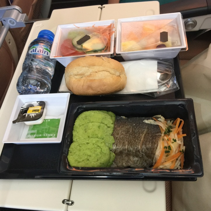 etihad airways low calorie in flight meal