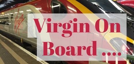 Virgin Trains 1st Class London to Liverpool….