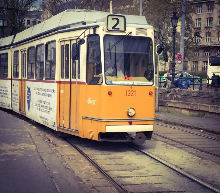 Budapest no2 Tram