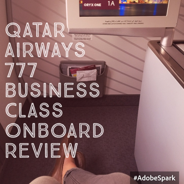 Qatar Airways, 777  Doha to London Heathrow  Business Class  Flight Review