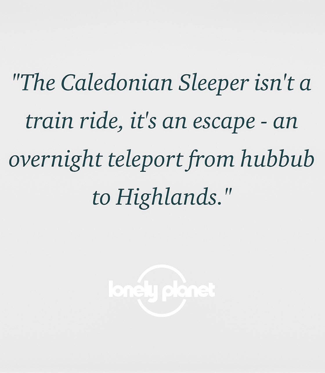 Lonely planet Travel Quote