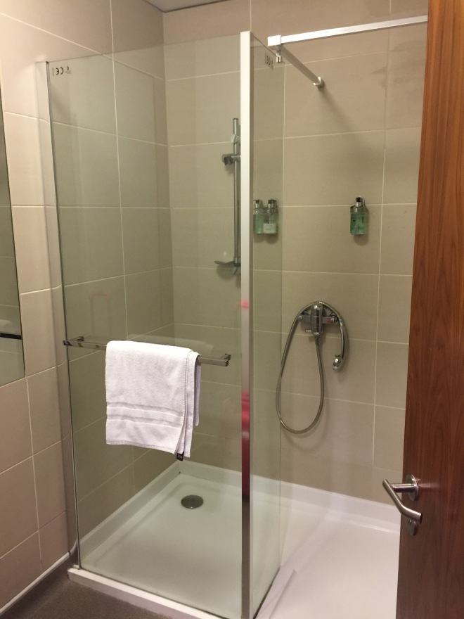 Virgin trains 1st class lounge Euston shower room