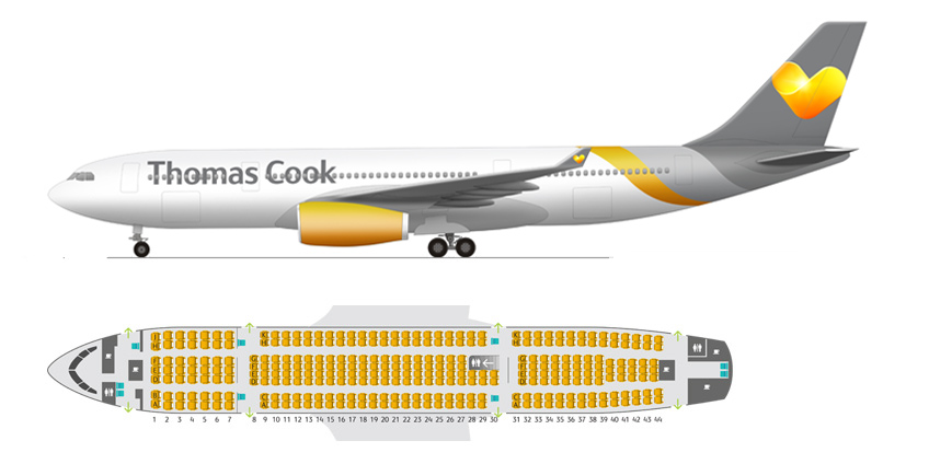 Charter Goes Chic With Thomas Cook Airlines Eat Sleep