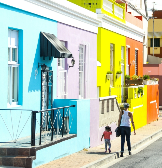 Walking in the Bo Kaap