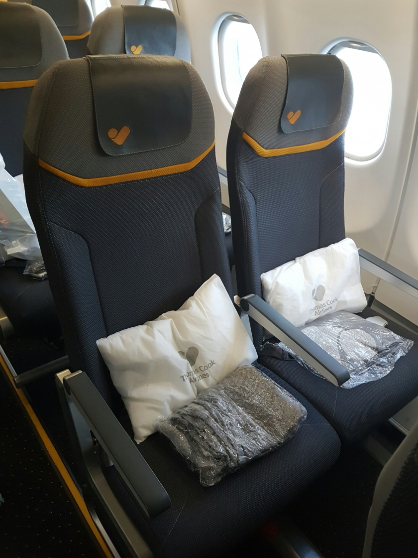Thomas cook A330 economy seating