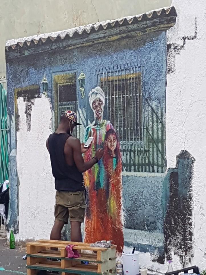 Ibrahim Baaith street art