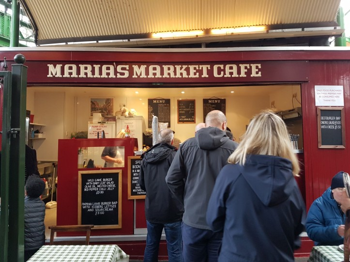 Marias market cafe Borough Market