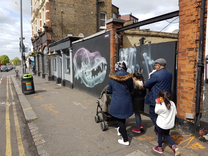 SHOK-1 Street art walthamstow