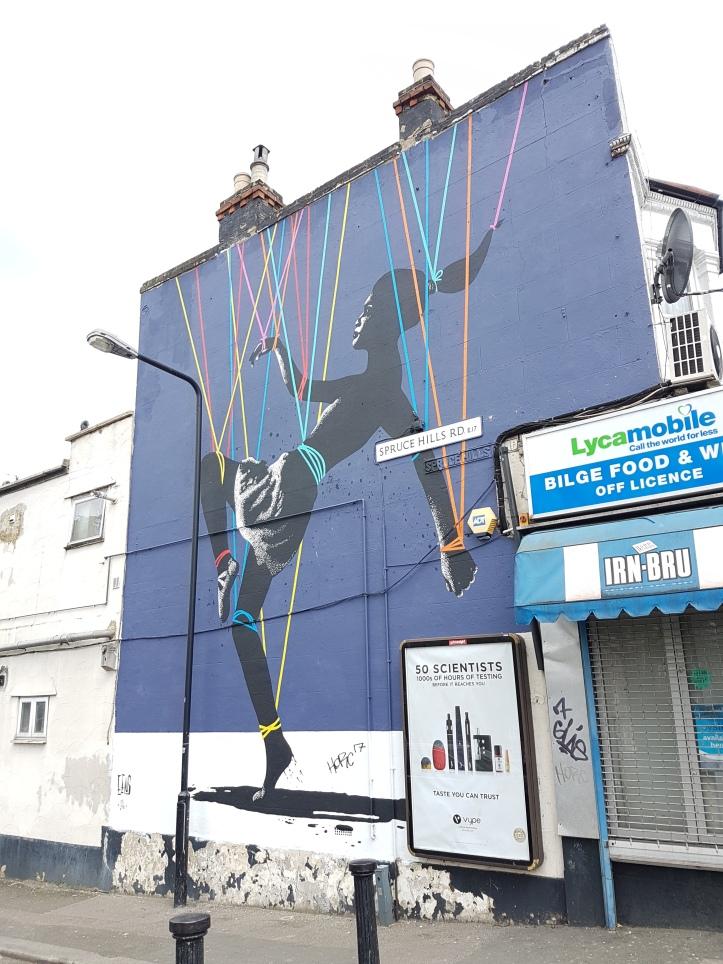 EELUS street art Walthamstow
