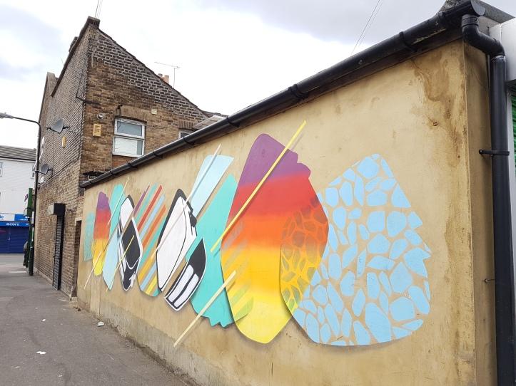 Toaster street art Walthamstow