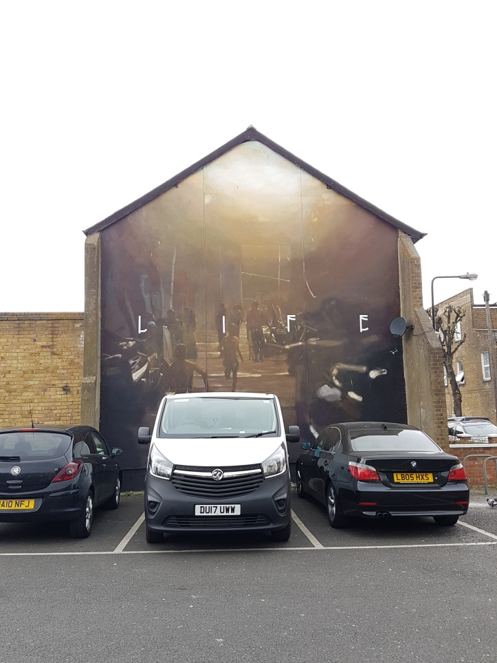 Alex void streetart walthamstow