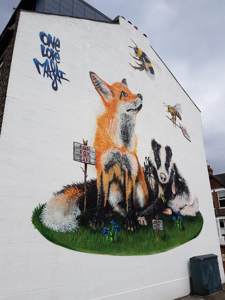 Louis Masai street art walthamstow