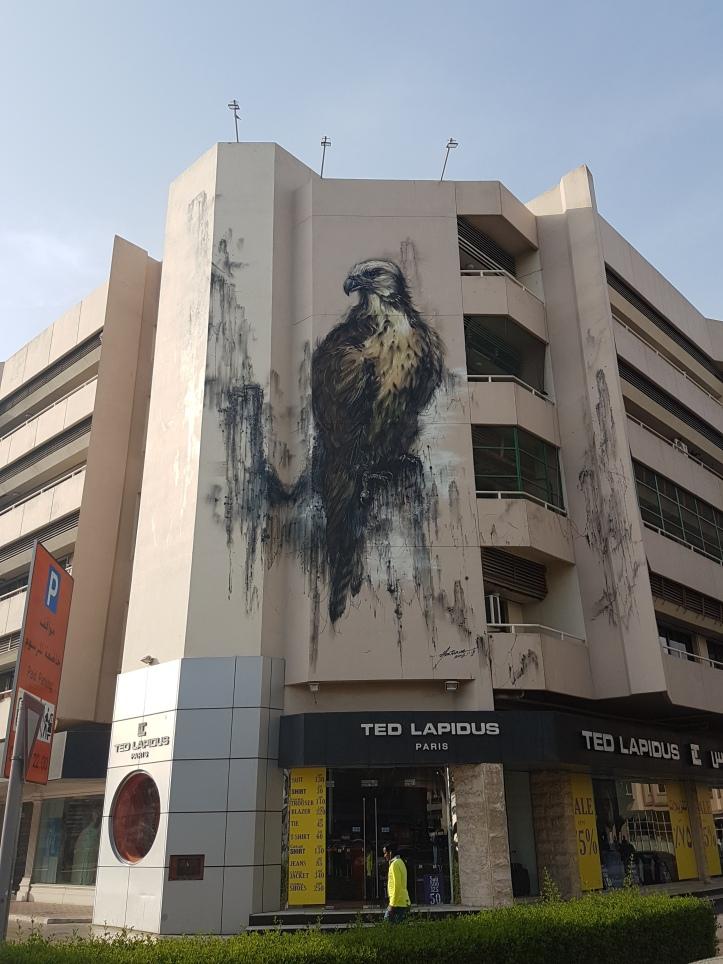 DUBAI Street Art Hua Tunan