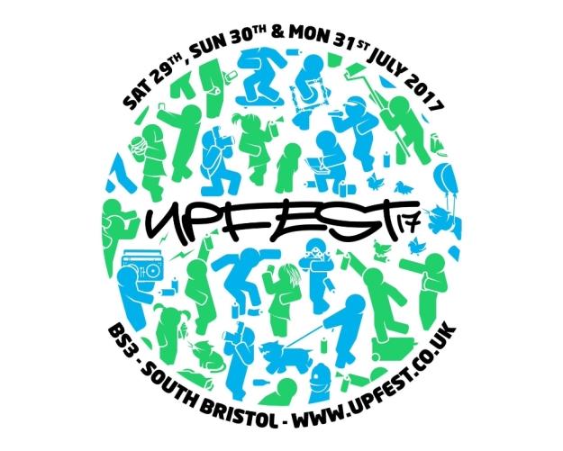 Upfest street art festival