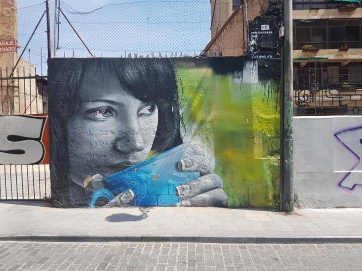 Xolaka street art valencia