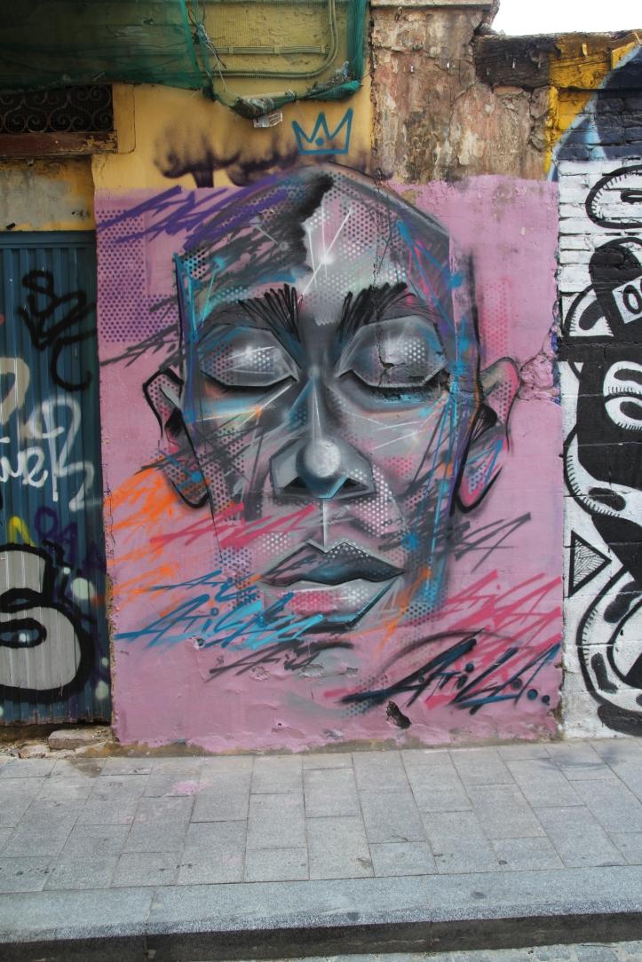 Atila street art