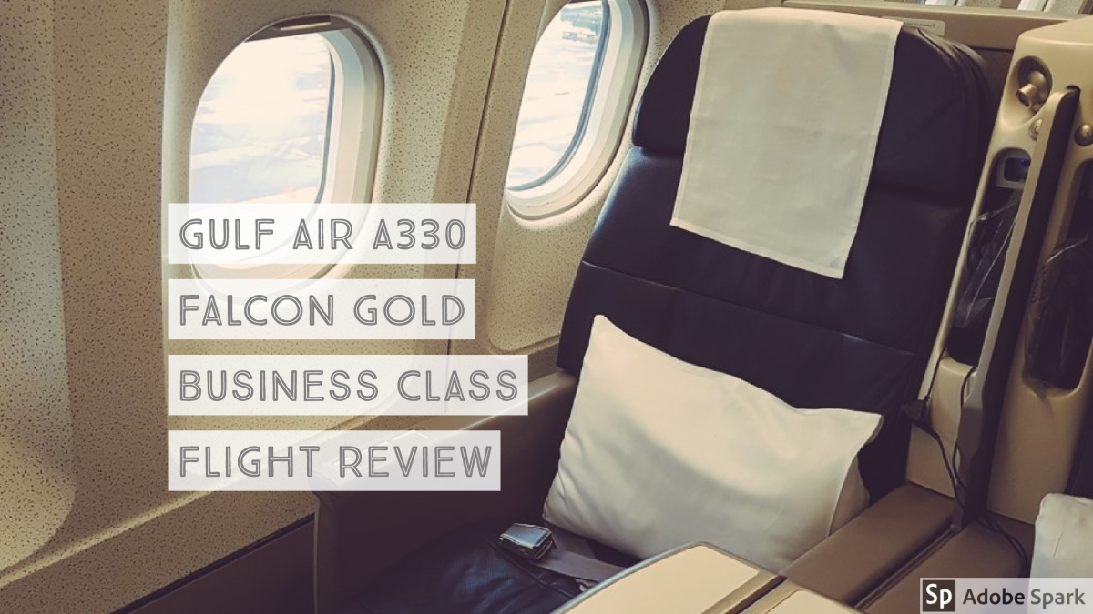 Gulf Air #A330 London Heathrow to Bahrain Falcon Gold Business Class Flight Review