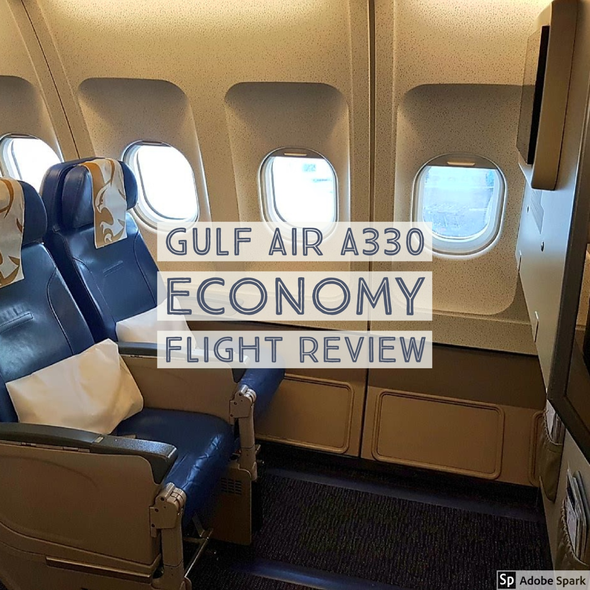 Gulf Air A330 Bahrain to London Heathrow Economy Cabin Flight Review