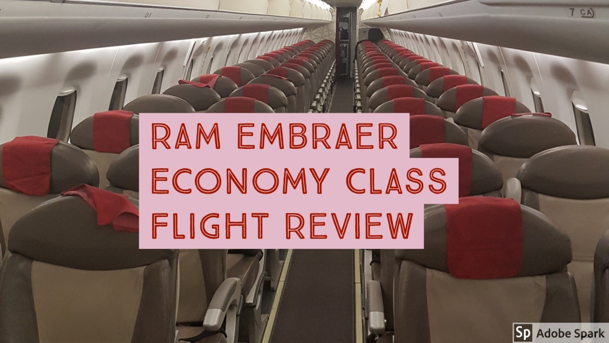 Royal Air Maroc Rabat to London Economy Class Flight Review