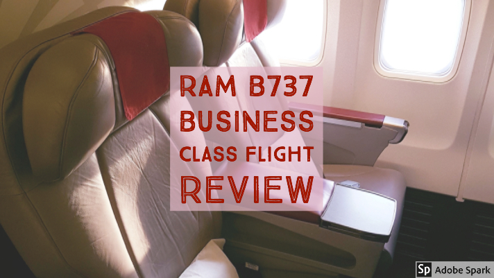 Royal Air Maroc London to Casablanca Business Class Flight Review
