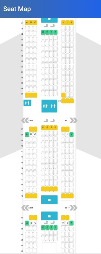 Emirates A380 Economy Class London Gatwick to Dubai Flight Review